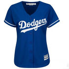 Los Angeles Dodgers Womens Jersey Cool Base Majestic Blue