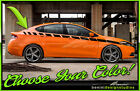 Strobe Side Racing Stripes Graphics - Fits 2013-2016 Dodge Dart $49.99 USD on eBay
