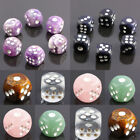 Amethyst Crystal Casino Card Game Lucky Chessex Dice Bar Party Die Fun Game Toys