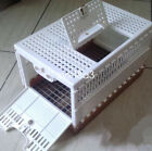 Pigeon Training Transport Basket folding Collapsing cages nest box bird basket