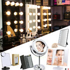 light up makeup - Hollywood Makeup Vanity Mirror w Light LED Touch Screen Tabletop Cosmetic Mirror