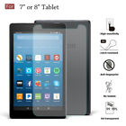7  8 inch Universal Tempered Glass Screen Protector For Tablet Samsung LG ipad