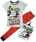 Womens Disney Minnie Mouse Love Mickey Forever Pyjamas Plus Sizes 8 to 22