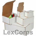 White Box Mailers, 50, 100, 200, Many Sizes