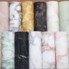 Marble Effect Contact Paper Film Self Adhesive Peel-stick Wall Covering Novelty