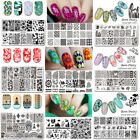 BORN PRETTY Nail Stamping Plates Nail Art Image Stencils Templates Decoration