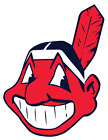 2 Cleveland indians Corn Hole WALL Decals set, Multiple sizes