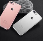 Trendy Hybrid Skin Transparent Case TPU Gel Covers Apple iPhone X 8 7 5s 6s Plus