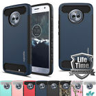 For Moto X4 / Moto X 2017 Case, MyGotec Carbon Fiber Armor Case