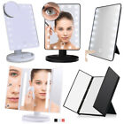 light up makeup - LED Makeup Mirror Tabletop Vanity Light Up Mirror Cosmetic Beauty Xmas Gift +Box