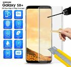 For Gold Samsung Galaxy S8 Plus / s8+ Phone - 3D CURVED Edge Glass in CLEAR