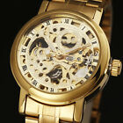New Trend Women'S Golden Ladies Fashion Automatic Mechanical Skeleton Watch ss2