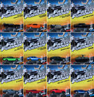 Fast & Furious Set 12 Modellautos Dom Dodge Ford Plymouth 1:55 Mattel FCF60