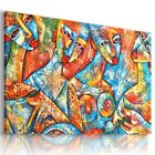 PAINTING WOMEN ABSTRACT MODERN PRINT CANVAS WALL ART PICTURE LARGE AB5 X  MATAGA