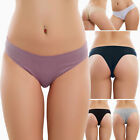 Stock 6 pieces womens briefs tanga brazilian stretch cotton new 534-6