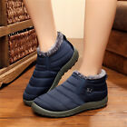 Womens Ankle Boots Light Soft Booties Casual Slip On Shoes T