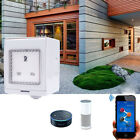 EU/UK/US Waterproof Charger Remote Control Wi-Fi Wireless Wall Outlet Socket