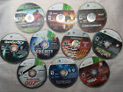Lot 10 Xbox 360 Games SLIGHTLY SCRATCHED, COD, NBA, BIOSHOCK, Forza, Fable 3