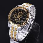 Fashion Stainless Steel Luxury Sport Analog Quartz Men's Wrist MY8L