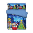 3x Christmas Themed Bedding Duvet Cover for Merry Christmas Decoration 1#