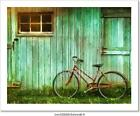 Digital Painting Of Old Bicycle Art Print/Canvas Home Decor Wall Art Poster - B
