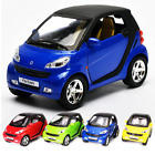 Pull Back 1:32 Benz Smart ForTwo Alloy Diecast Car Model Toy Vehicles Kids Gift