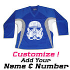 Stormtrooper Star Wars Hockey Practice Jersey Optional Name & Number- Royal Blue