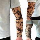 Nylon Tattoo Fancy Dress Colourful Sleeve Party Dress Up Fake Tattoo Sleeve