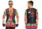 Adult size Xmas Biker Sweater with Tattoo Sleeves - Christmas - 5 sizes fnt