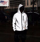 3m Super Reflective Men's Waterproof Jacket Cycling Motorcycle Night Safe Jacket