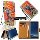For Samsung Galaxy S S2 S3 S4 S5 - Leather Wallet Stand Magnetic Flip Case Cover