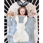 Winter Bunny Kids Baby Napping Blanket Rabbit Bedding Towel Cover Throws Wrap ❤