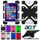 acer 8 tablet case - New Shockproof Soft Silicone Stand Cover Case For 7