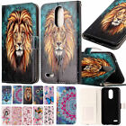 NI Bas-relief Flip Leather Stand Case Wallet Cover For iPhone 8 X Samsung Note 8