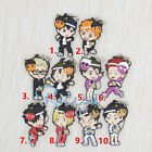 Hot Japan Anime Haikyuu!! Volleyball Highschool Rubber Strap Keychain FL250