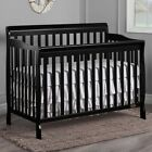5-in-1 Convertible Crib Baby Toddler Bed Nursery Furniture Daybed NEW
