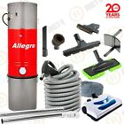 Allegro Central Vacuum System Electric Powerhead Hose Complete Kit