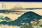 Great Wave Fuji Mountain Japan Paint Silk Canvas Poster Fabric Art Wall Decor U4