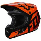 Fox Racing Youth V1 Helmet Race Series Orange/Black 17396-009