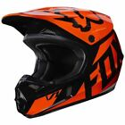 Fox Racing V1 MX Helmet Race Series Orange/Black Mens 17343-009