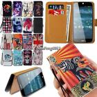 Leather Wallet Stand Magnetic Flip Case Cover For Acer Liquid Z Series Phones