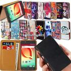 Leather Wallet Stand Flip Case Cover For Alcatel OneTouch POP C1/2/3/5/7/9 Phone