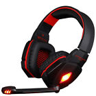 EACH G4000 3.5mm USB Pro Gaming Headset LED Stereo Headphone with Mic for PC
