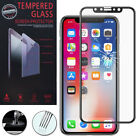 """Film Toughened Glass Protection Black for Apple IPHONE x 5.8 """"/ 10"""