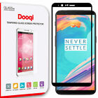 Dooqi OnePlus 5T Full Coverage 3D Curved Tempered Glass Screen Protector Saver