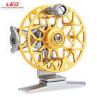 LEO HE50 1:1 Right Hand Metal Aluminum Alloy CNC Machined Ice Fly Fishing Reel