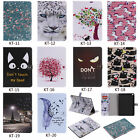 2018Painted 3D Magnetic Flip Wallet Stand Case Cover For iPad 2 3 4 Air Pro Mini