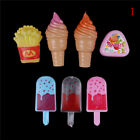 Ice Cream Popsicles Chips Barbie Doll Toy Kitchen food Play Doll toy for baby