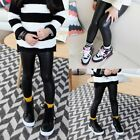 Girls Winter Children New Fall And Winter PU Leather Padded Cartoon Warm Pants