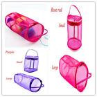 Внешний вид - Portable Lightweight Mesh Bag Yarn Crochet Thread Storage Organizer Tote Bag 1pc